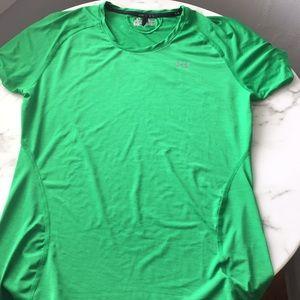Under Armour Green Shirt